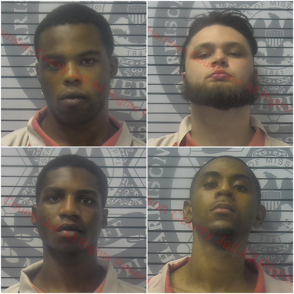 All four suspects are charged with accessory after the fact in the capital murder of Biloxi...