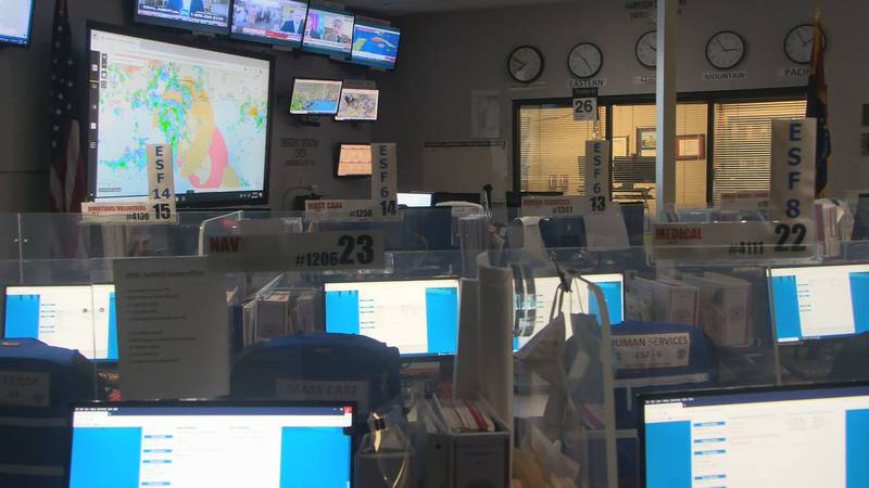 The Harrison County Emergency Management Agency is tracking Tropical Storm Ida as it gets...