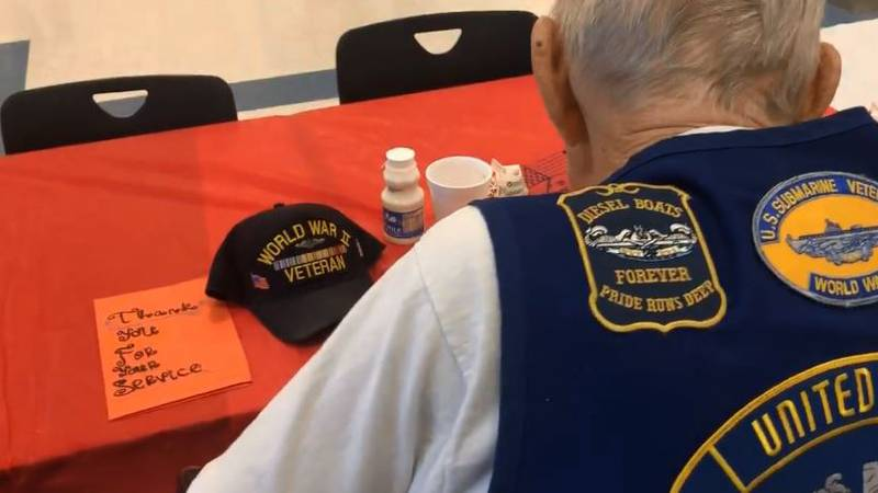 For the 11th year, students at Ocean Springs High served breakfast to veterans to show their...