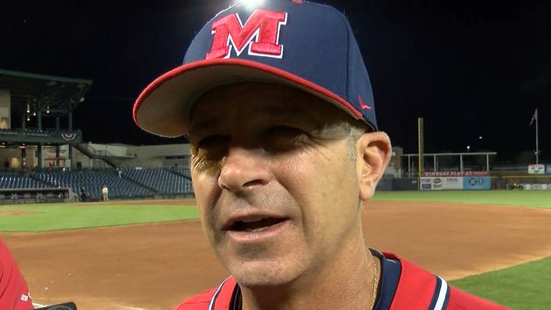 Ole Miss head coach Mike Bianco