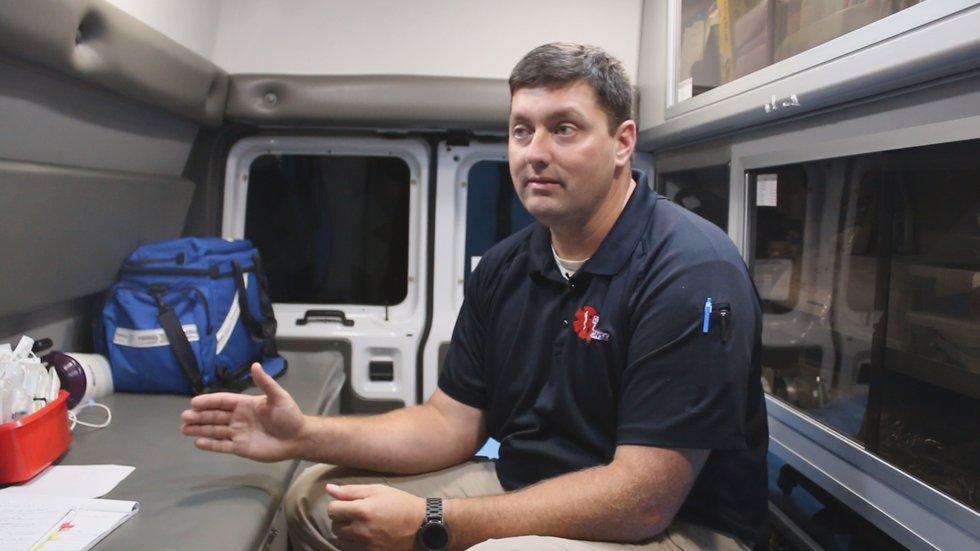 Tyler Blalock started Rural Rapid Response in 2012. He's been an EMT for the last twenty years....
