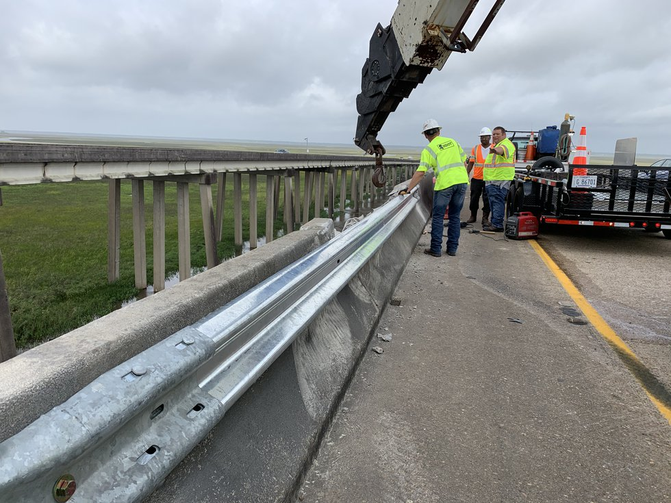 Cal Robertson with Mississippi Highway Patrol told WLOX that the tentative plan is to remove...