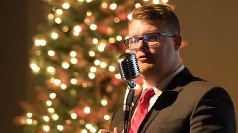 Singer Jesse Hill is one of many performers who are taking this year's Christmas performances...