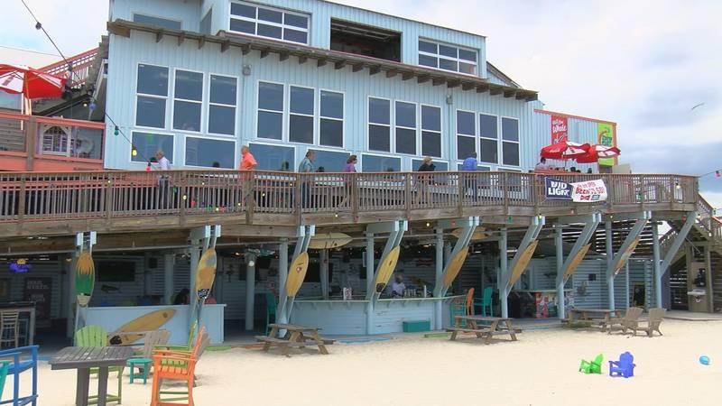 Lucy's Retired Surfers Bar & Restaurant in Biloxi
