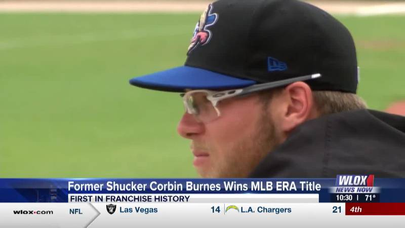 Former Shucker Corbin Burnes wins MLB ERA title