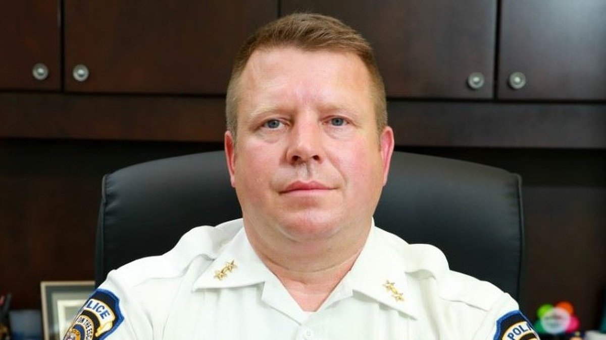 Moss Point Police Chief Brandon Ashley