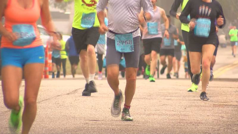 The full marathon begins at Henderson Point in Pass Christian, while the half marathon starts...