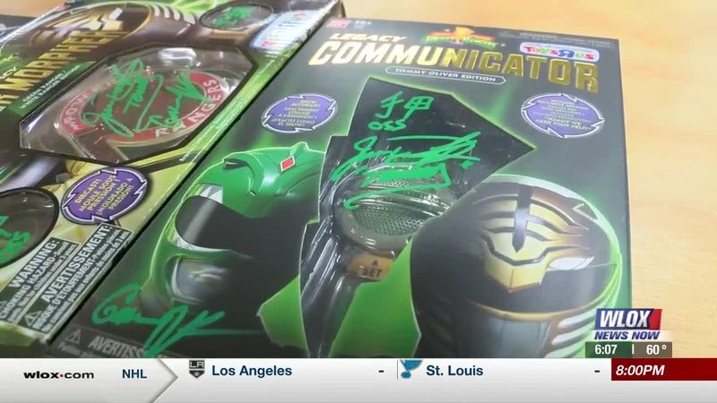 A superhero surprised a comic book shop in Biloxi today. The Original Green Power Ranger Jason...