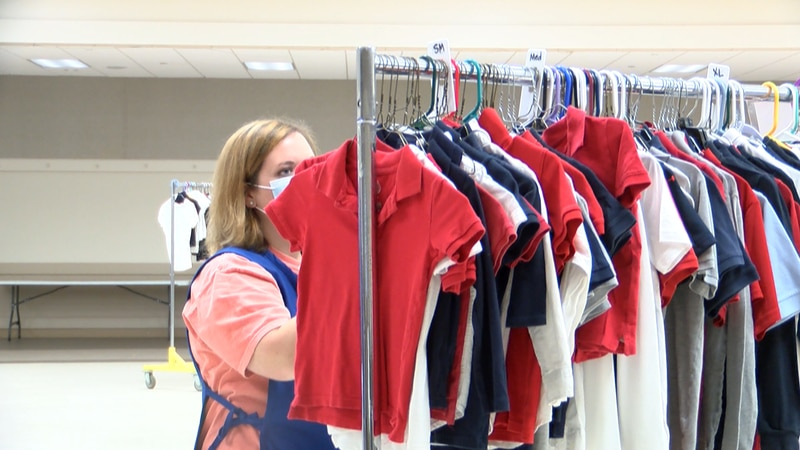 Help is something Junior Auxiliary members strive to do year-round. And the uniform closet is...