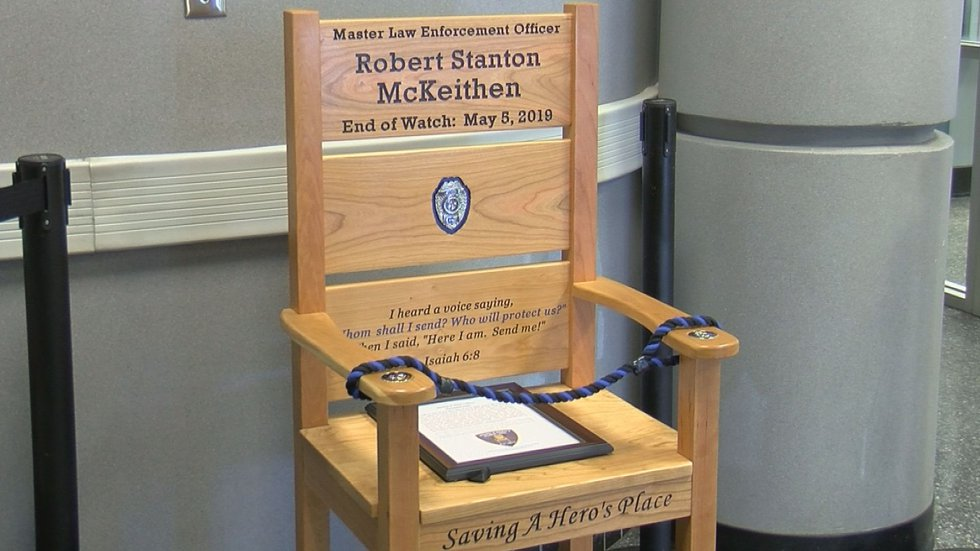The legacy of Biloxi fallen police officer Robert McKeithen and Hancock fallen deputy Lt....
