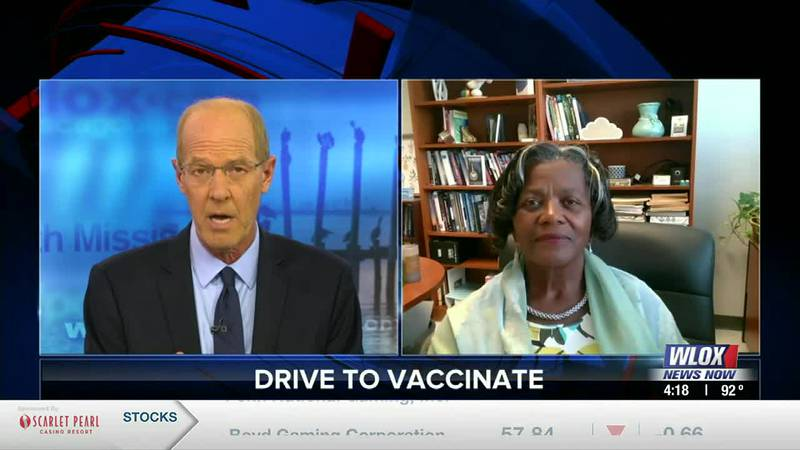 Clinical psychologist Doctor Pamela Banks tells about vaccine hesitancy and a new event tonight...