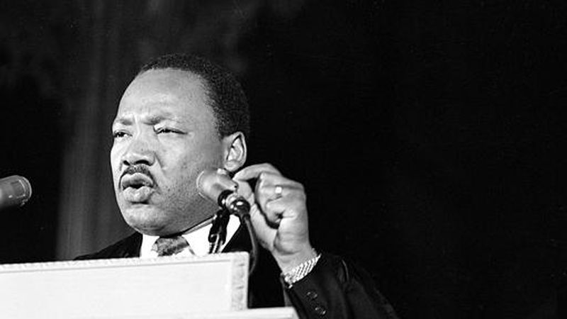 Dr. Martin Luther King Jr., discusses his planned poor people's demonstration from the pulpit...
