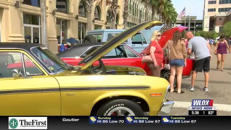 The second and final day of the annual View the Cruise in downtown Gulfport brought out a big...