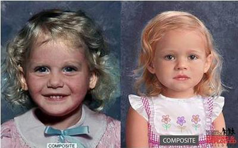 Forensic facial reconstruction renderings show what Baby Jane may have looked like before her...