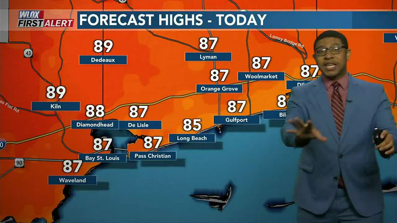 It's another day with late-Spring warmth and summerlike humidity. Would be nice to get a brief...