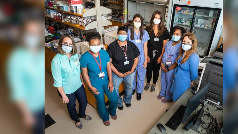 Some of the UMMC researchers teaming up with scientists at Harvard and MIT to study the early...