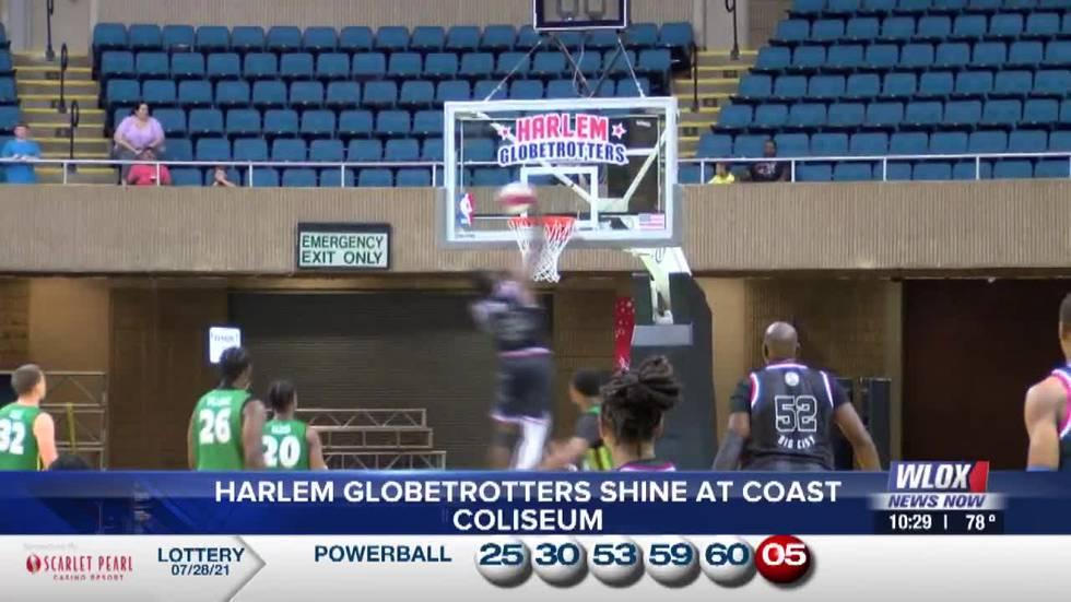 Harlem Globetrotters shine in Biloxi