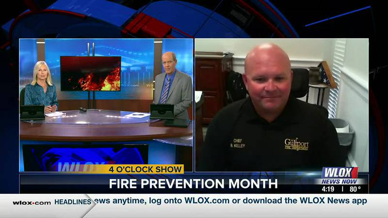 October is Fire Prevention Month, and Gulfport Fire Chief Billy Kelley has some tips to keep...