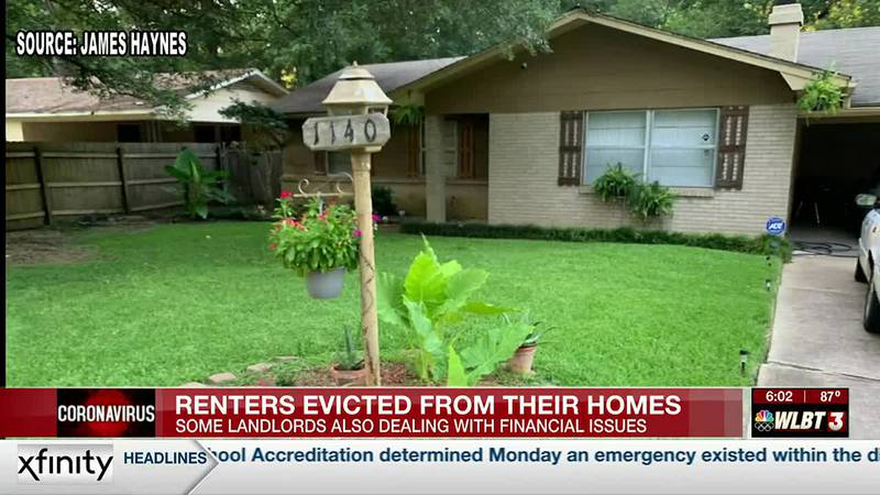 Some Mississippi tenants now homeless after eviction moratorium ends