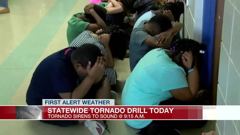 Statewide tornado drill on Wednesday morning