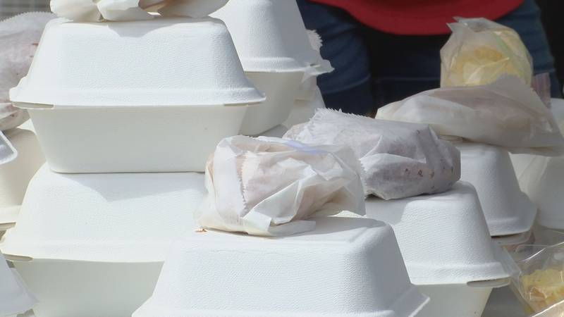 The Life Church of Picayune feeds those affected by Hurricane Ida