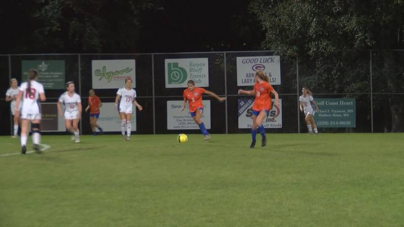 Gulfport Kate Smith gets ready for a shot against Biloxi