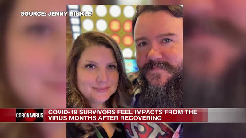 COVID survivors feel impacts from the virus months after recovering