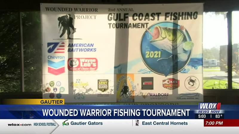 Veterans in Gautier begin to arrive for the tournament starting bright and early Saturday...