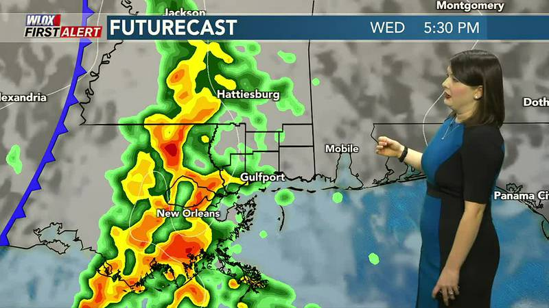 Beautiful weather on Tuesday. Strong storms are possible by Wednesday.