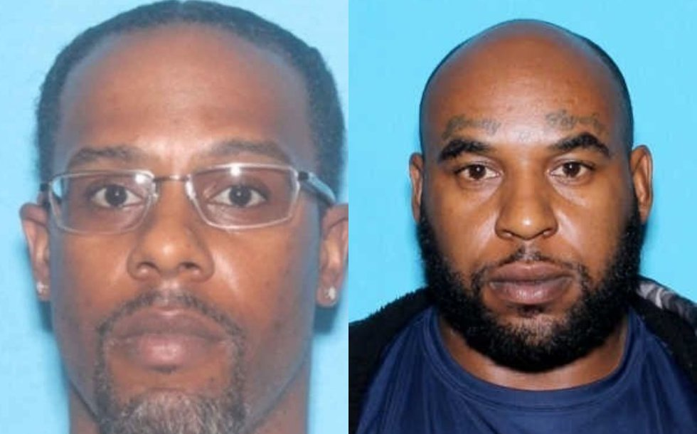 Officials say Anthony Hunt (left) was arrested in New Orleans Thursday. JaMichael Jenkins...