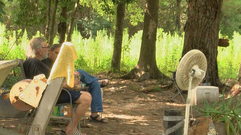 People at the Bluff Creek Campgrounds say their landlord has not paid a $13,000 power bill.