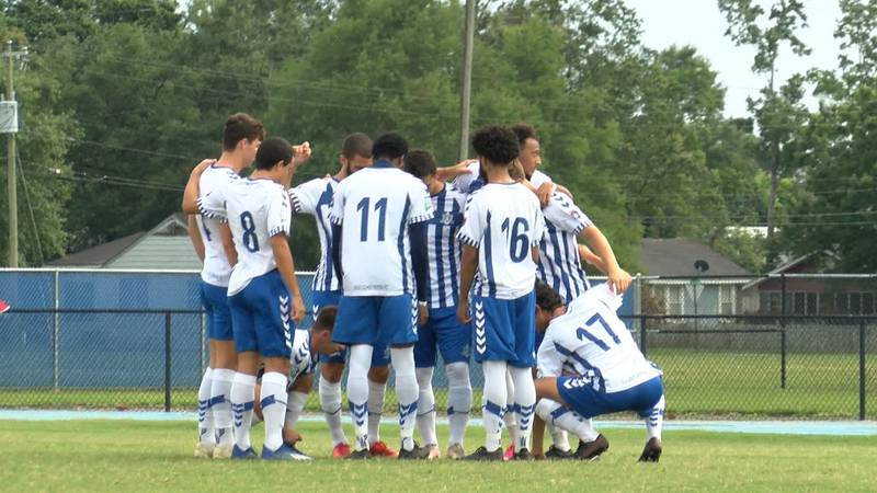 Port City shut out the Florida Roots 2-0 Saturday.