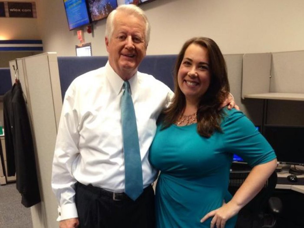 Jeff during his most recent visit to the newsroom with the author, WLOX Digital Content...