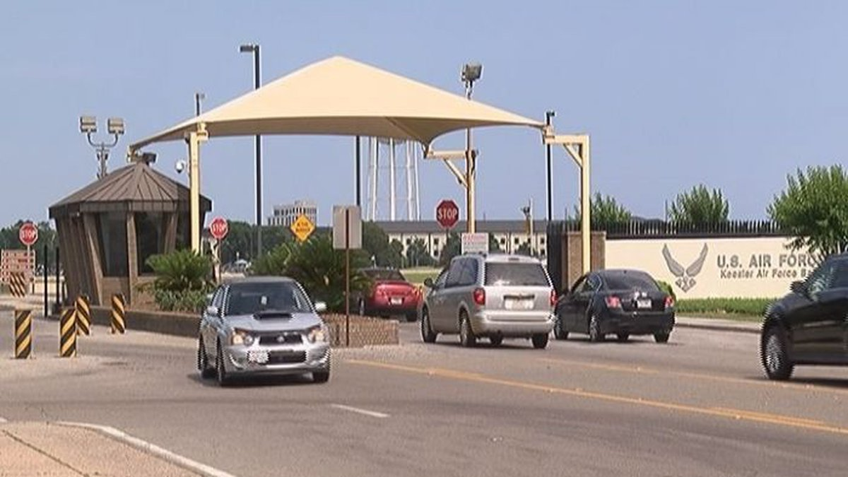Keesler Air Force Base was locked down for three hours Saturday afternoon as base officials and...