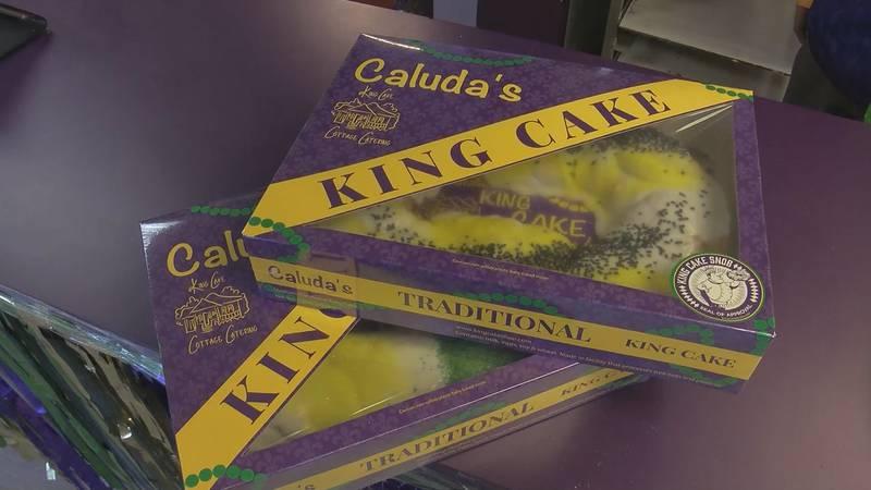 Caluda King Cake