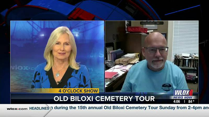 The 15th annual Old Biloxi Cemetery Tour will be held from 2-4pm on Sunday, Oct. 17 and again...