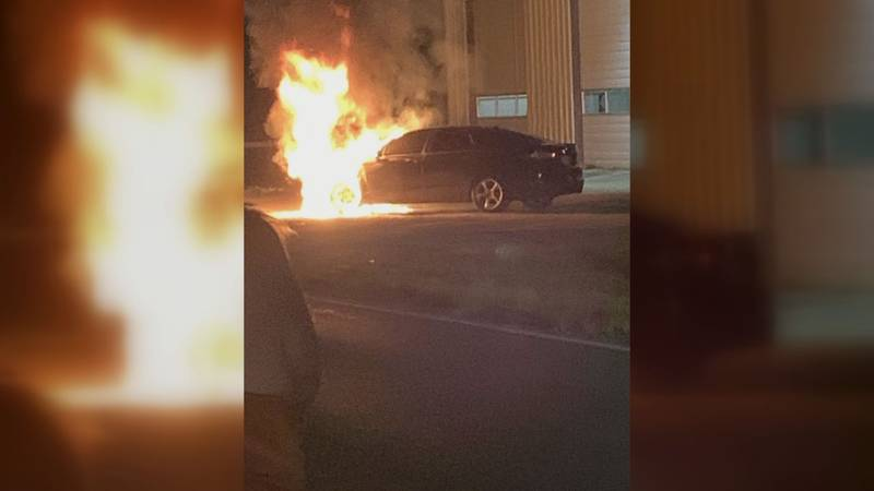 Two teens are grateful to be alive after barely escaping from a vehicle this week when it...