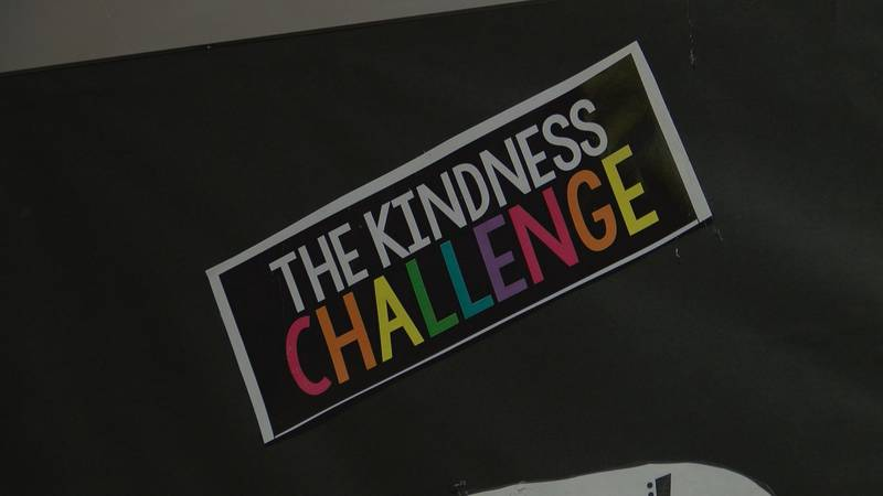 DeLisle Elementary and Pass Christian Elementary are participating in the kindness Challenge...