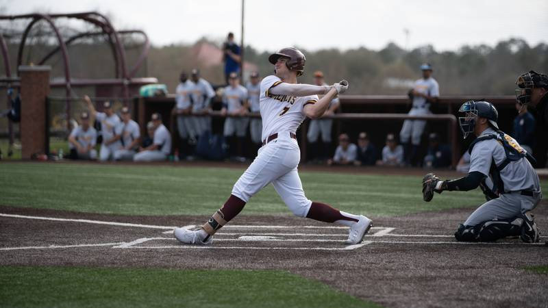 Pearl River Community College second baseman Dalton Cummins had five hits and three walks,...