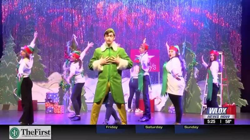 Elf the Musical opens at the Mary C in Ocean Springs this weekend. Karen Abernathy takes us...