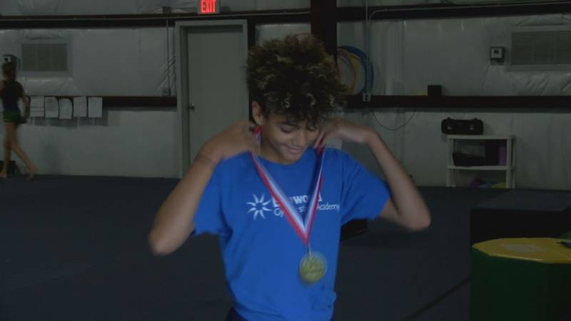 Gulfport's Tyse Love puts on his gold medal