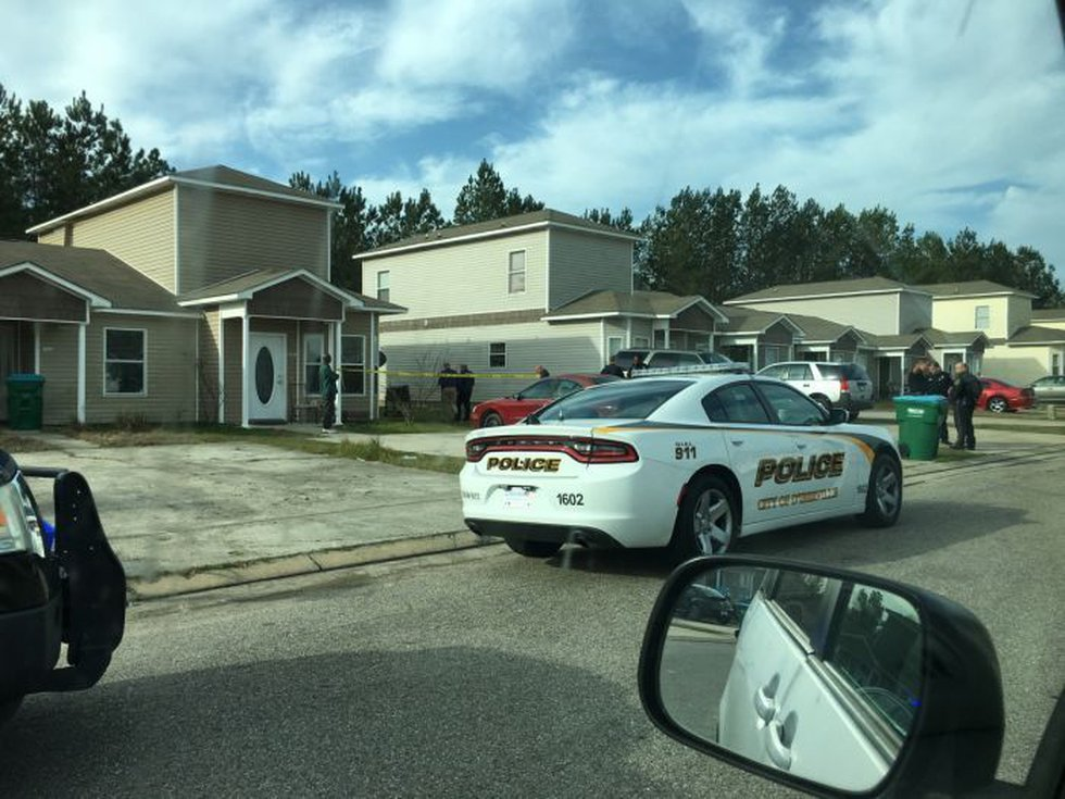 D'Iberville Police Chief Wayne Payne said an officer opened fire Tuesday morning at an...