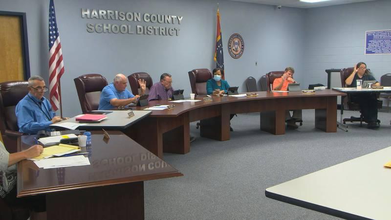 Still taken from board meeting on August 2nd.