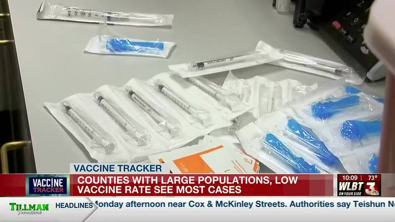 Mississippi Department of Health data shows major differences in the number of cases reported...