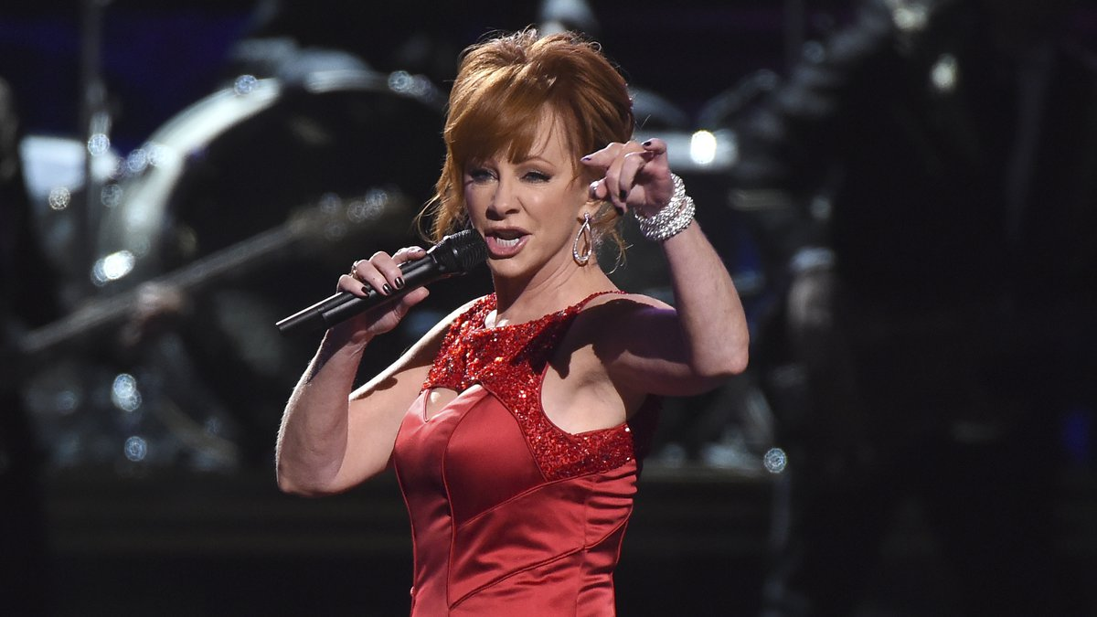 """Reba McEntire performs """"Fancy"""" at the 50th annual CMA Awards at the Bridgestone Arena on..."""