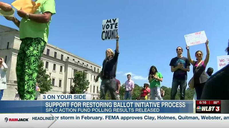 New poll seeks to gauge support for restoring Mississippi's ballot initiative process