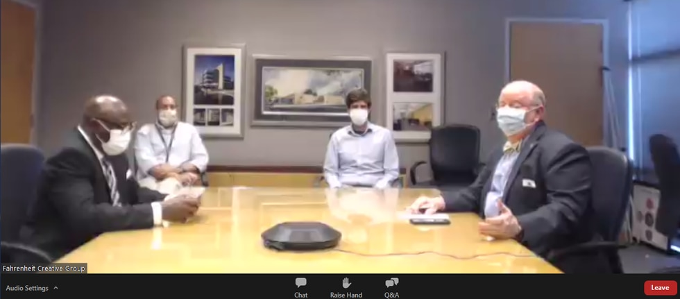 State health officials hold virtual Q and A to answer questions about COVID-19.