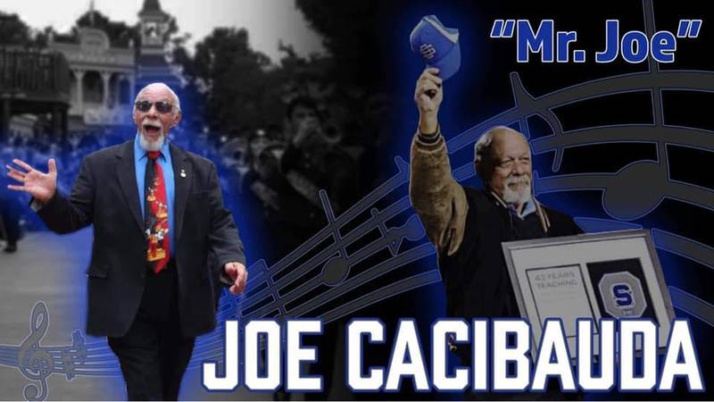 Joe Cacibauda, the longtime Ocean Springs High School band director, better known to everyone...