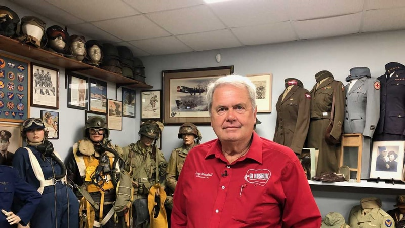 Doug Mansfield continues to pay tribute to American veterans