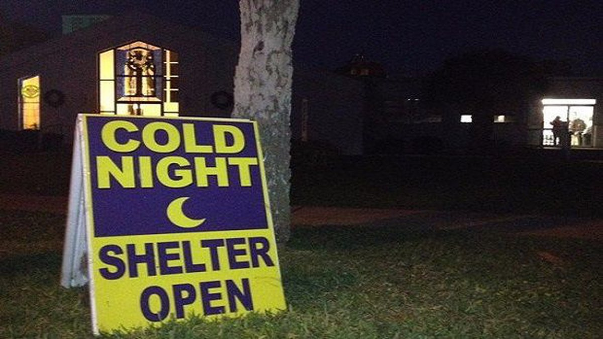 With temperatures expecting to drop below freezing, two cold weather shelters have been opened...